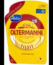 Valio Oltermanni Tilsit ohuen ohut e270 g viipale