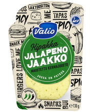 Valio Jalapeno Jaakko kermajuusto e130 g viipale