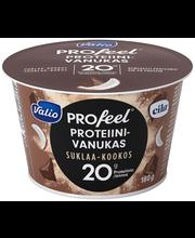 Valio PROfeel proteiinivanukas 180 g suklaa-kookos laktoositon