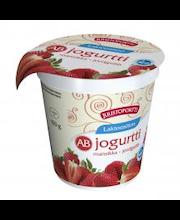 Juustoportti Ab-jogurtti 150g laktoositon mansikka