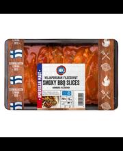 HK Viljaporsaan smoky BBQ slices 750