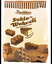 Töysäläinen suklaa wohveli valkosuklaatäytteellä 220g