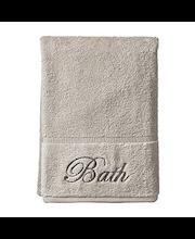 Kylpypyyhe script bath