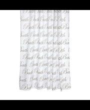 Suihkuverho script bath