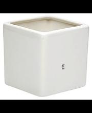 Ruukku neliö + lautanen 12 cm valkoinen