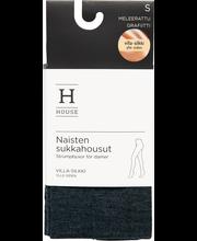 House villa-silkkisukkahousut