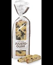 Crusta Juusto-oliivi 250g kuorrutettu vehnäleipä