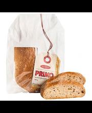 Rosten Primo moniviljaleipä 440g sekaleipä paperipussissa