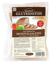 Rosten gluteeniton moniviljaleipä 300g