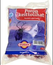 Kylmänen 1kg Poron keittoliha pakaste