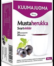 Reformi 80g/20annospussia mustaherukka sinkki, c-vitamiini ja kofeiini kuumajuomajauhe ravintolisä