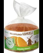 Reformi Luomu 180g Hollantilainen vohveli, gluteeniton