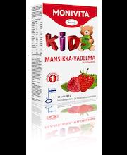 Reformi Monivita 63g 90 purutablettia Kids mansikka-vadelma ravintolisä