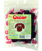 Oscar 100g Maksapullat koirille