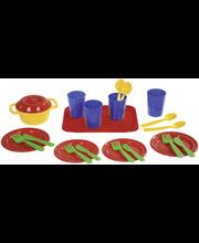 Plasto ruoka-astiat 4:lle