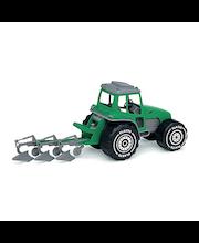 Traktori ja kyntöaura Plasto 45 cm