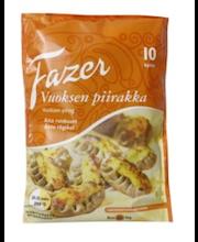FAZER Vuoksen piirakka 10kpl/500g raakapakaste leivonnaispakastepiirakka