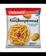 Oolannin Uunirapeat Ranskalaiset 1kg pakaste peruna