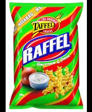 Taffel Raffel 235g ranskankerma&sipuli maustettu perunakierre