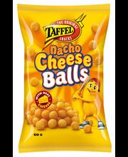 Taffel Nacho Cheese Balls 60g maustettu juustosnacks