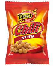 Taffel Chili Nuts 150g chilikuorrutettuja maapähkinöitä