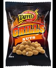 Taffel Grills Nuts 150g kuorrutettuja maapähkinöitä