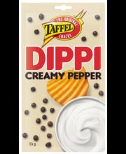 Taffel dippi 13g creamy pepper kermainen pippuri dippimauste