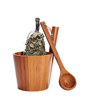 Rento Bambu saunasetti
