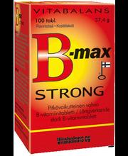 B-max Strong 100 kpl pitkävaikutteinen vahva b-vitamiinivalmiste 37,4 g