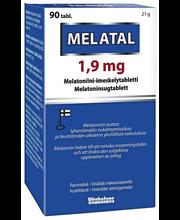 Melatal 1.9 mg 90 tabl.