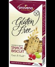 Provena 160g gluteeniton kaura-hedelmä välipalakeksi 4x4kpl