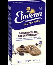 Provena 160g gluteeniton kaura-tumma suklaa välipalakeksi 4x4kpl