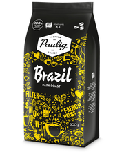Brazil Tumma Paahto 500g papukahvi