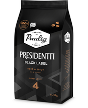Presidentti Black Label 400g papukahvi