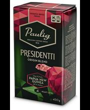 Presidentti Origin Blend Papua New Guinea 450g jauhettu kahvi