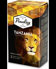 Presidentti Origin Blend Tanzania 500g jauhettu kahvi