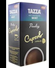 Paulig Tazza Mint Hot Chocolate Cupsolo 16kpl mintun makuinen kaakaojuomajauhe