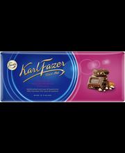 Karl Fazer 200g rusina (8%) ja hasselpähkinä (6%) maitosuklaalevy
