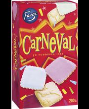 Fazer Carneval 200g n 33kpl keksi