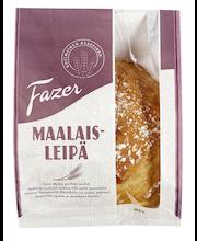 FAZER Maalaisleipä 500g kokonainen vehnäleipä