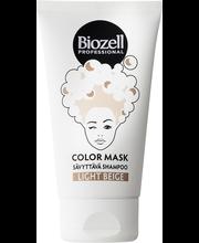 Biozell Professional 150 ml Color Mask Sävyttävä Shampoo Sand