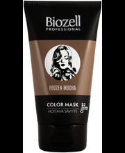 Biozell Professional 150ml Color Mask Hoitava hiussävyte Raspberry