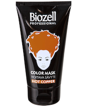 Biozell Professional 150 ml Hoitava hiussävyte Hot Copper