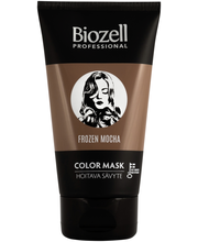 Biozell Professional 150ml Color Mask Hoitava hiussävyte Chocolate