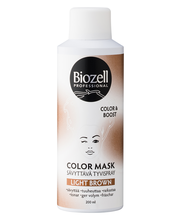 Biozell 200ml Color Mask Root Color spray Light Brown