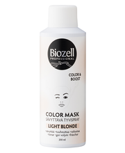Biozell 200ml Color Mask Sävyttävä Tyvispray Light Blonde