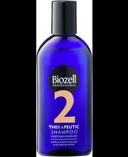 Biozell Terapeuttinen 200ml Shampoo rasvoittuvat hiukset ja arka kutiava hiuspohja