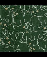 Finlayson 20kpl/24cm Misteli vihreä tissue lautasliina