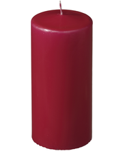 Havi 1kpl/7x15cm pöytäkynttilä punainen 70h