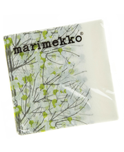 MM 20kpl/24cm koristeliinalajitelma Unikko keväänvihreä, Miniunikko, Lumimarja vihreä ja keltainen